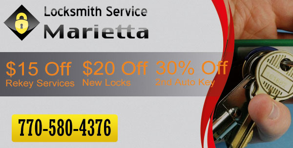 Locksmith Service Marietta  Coupon